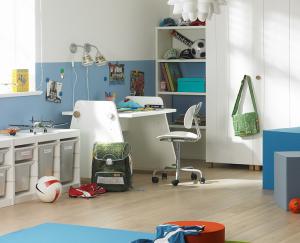 Jungen-Kinderzimmer für Zehnjährige