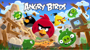Angry Birds game created by Rovio Entertainment