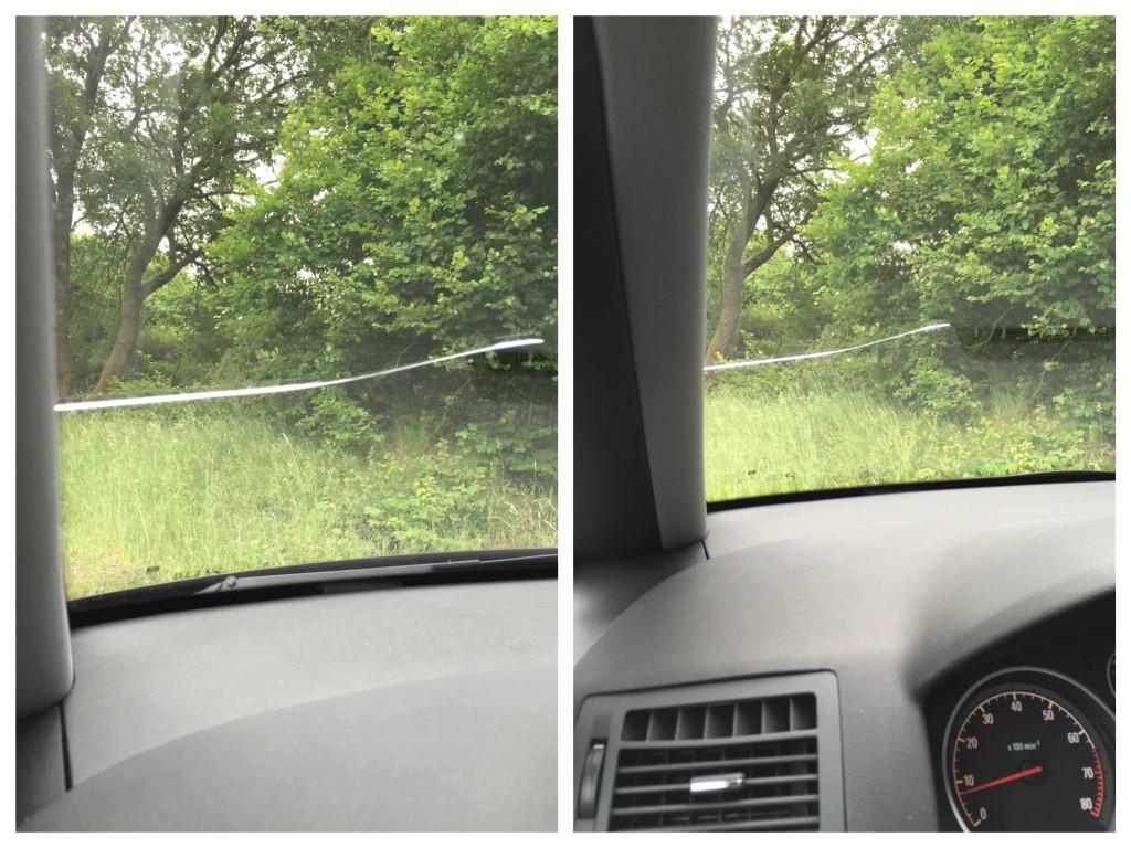 Autoscheibe Collage