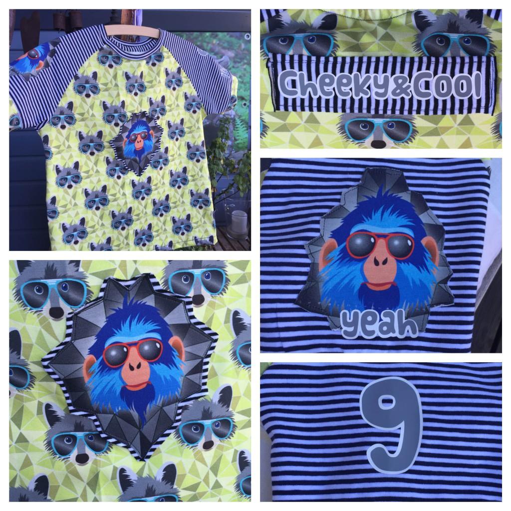 Geburtstagsshirt 9 Collage