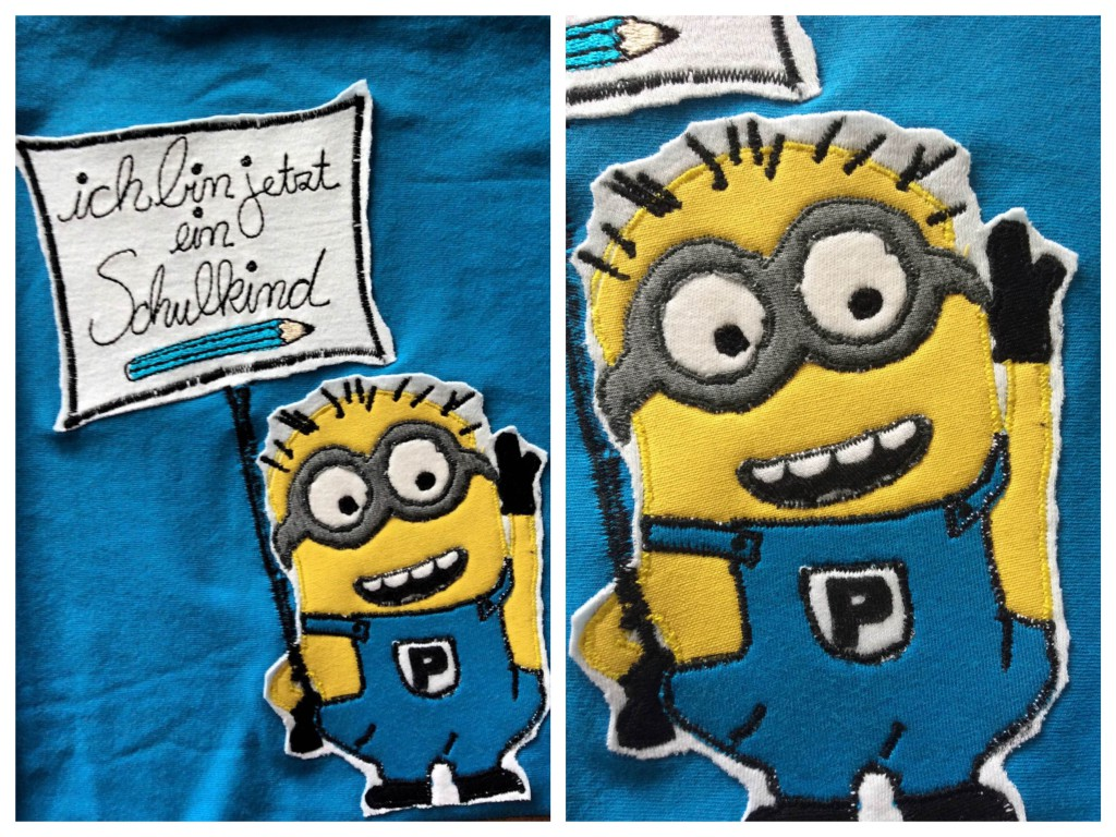 Minion Schulkind Collage